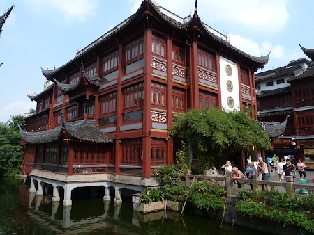 Shopping China: zona comerciala Shanghai