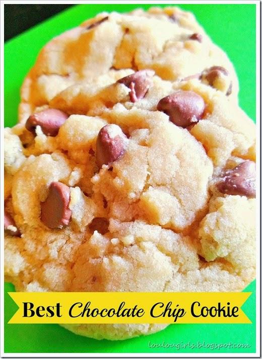 drool worthy chocolate chip cookies