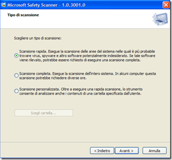 Microsoft Safety Scanner
