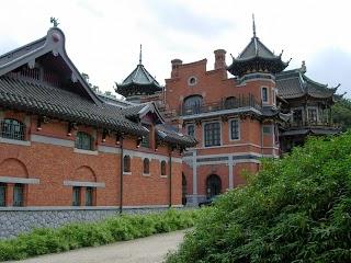 Dépendance du pavillon chinois à Laeken