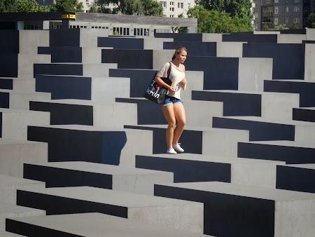 Obiective turistice Berlin: Memorialul Holocaustului