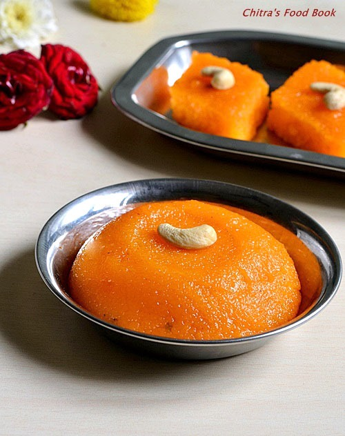 Rava kesari recipe how to make rava kesari with video chitras sooji kesari forumfinder Image collections