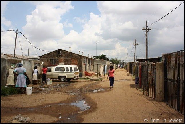 Mzimhlophe Hostel - ablutions
