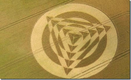 Crop Circle Formation Wiltshire