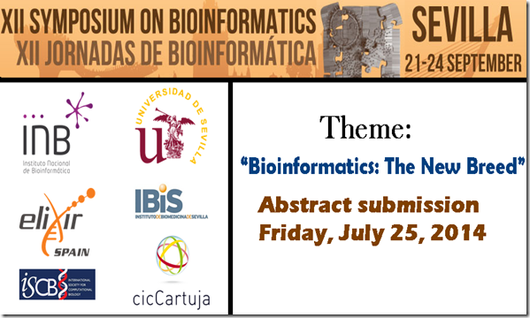 bioinformatics symposium/seminar, Sevilla, Spain, at cicCartuja (CSIC-US)