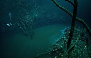 Υποθαλλάσιο ποτάμι στο Μεξικό