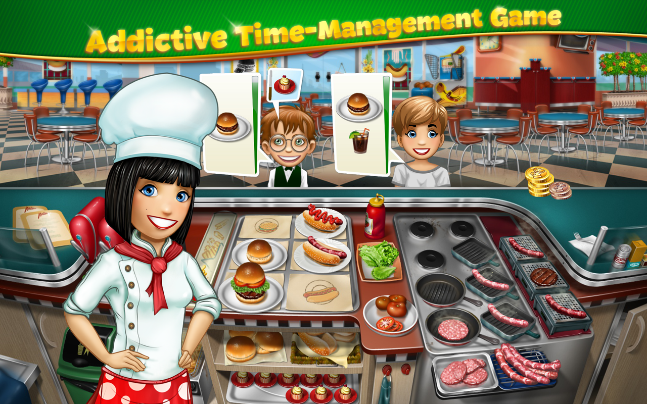 Cooking Fever Mod Apk (Unlimited Money/Gems) 1