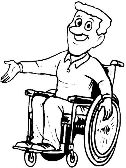 Dibujos De Discapacidad Para Colorear