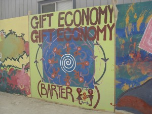 Food bank offers a working Gift Economy…