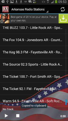 Arkansas Radio Stations USA