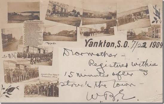 Engle Family Postcard