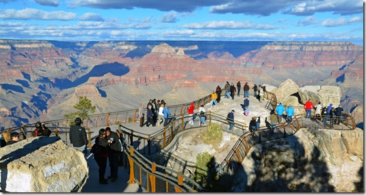 Grand Canyon Mather Point - NPS Public Domain