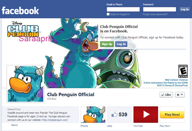 club penguin facebook official relationship