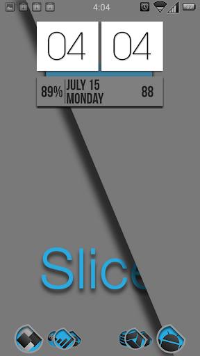 Slice Launcher Theme