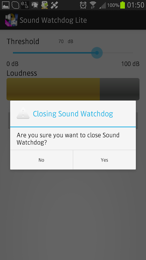Sound Watchdog Lite- screenshot