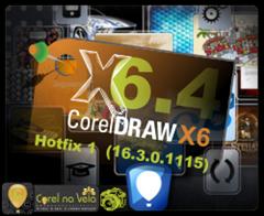 Atualização 4 do CorelDraw X6