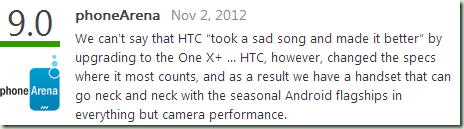 HTC One X+ Reviews