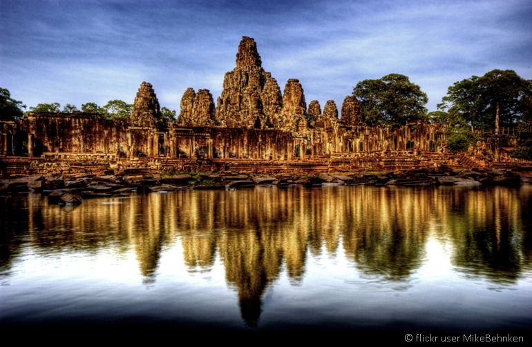 Siem riep Angkor Wat by flickr user MikeBehnken