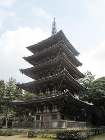 Obiective turistice Japonia: Pagoda in Kyoto.JPG