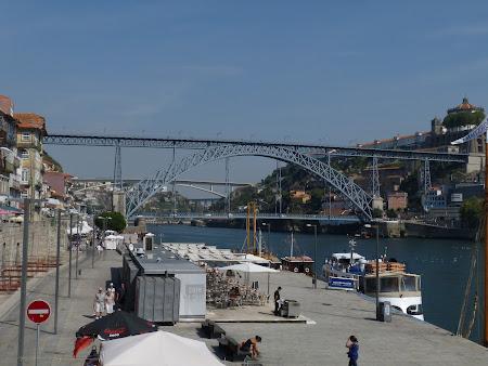 Imagini Portugalia: podul Luis din Porto