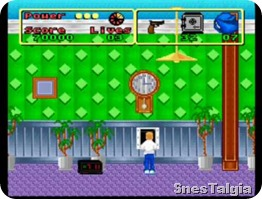 home-alone-snes-itens