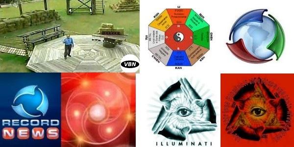 Rede Record e simbolismo Ocultista