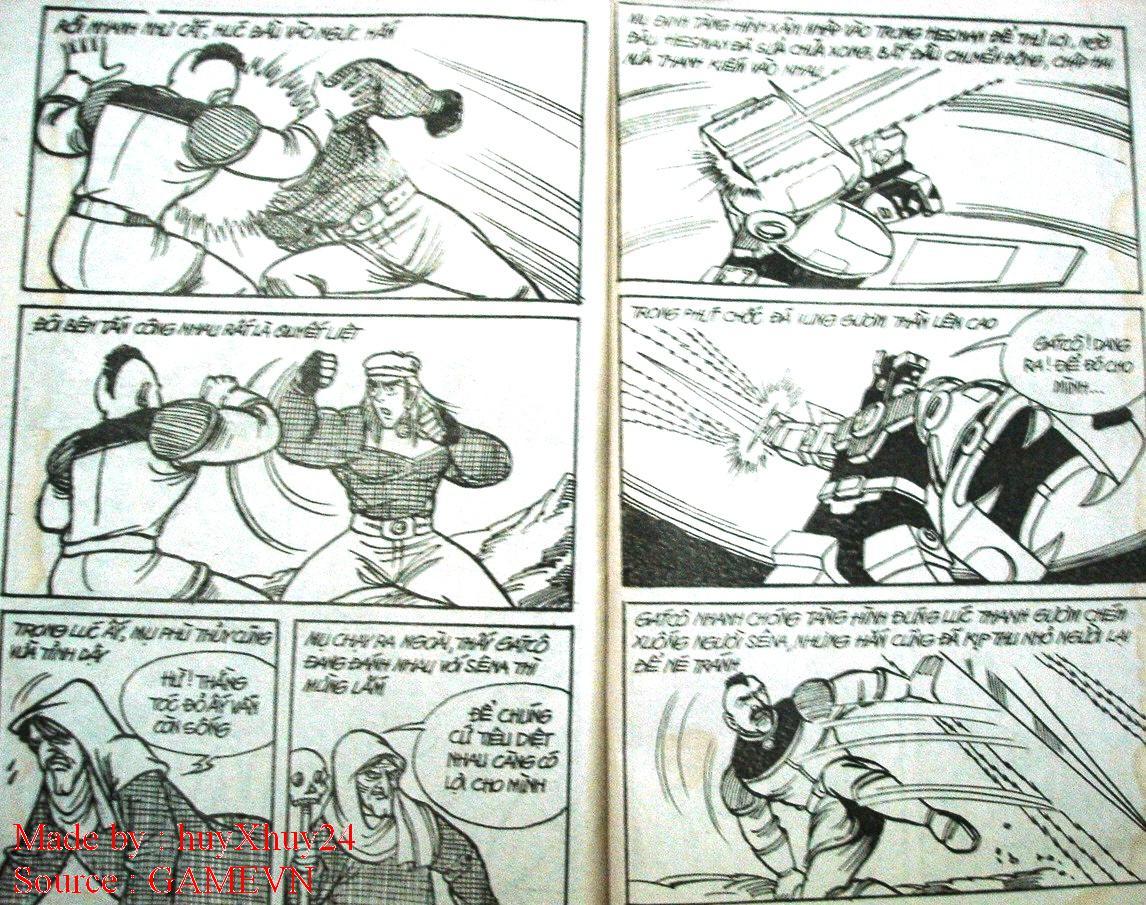 Dũng Sĩ Hesman chap 26 trang 32