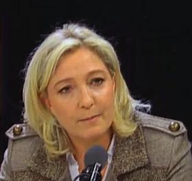 Vidéo-Marine Le Pen invitée de