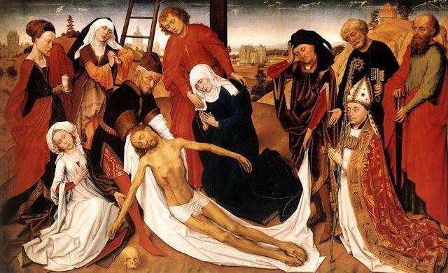 6 Rogier de la Pasture van der Weyden - La Piedad - Gótico Flamenco.jpg