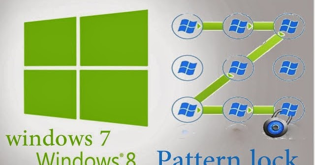 How to Add Pattern Lock on Windows 7 and Windows 8? ~ All