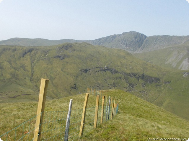 south ridge of esgairiau gwynion