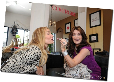 Lisa Vanderpump may have a new career as a makeup artist