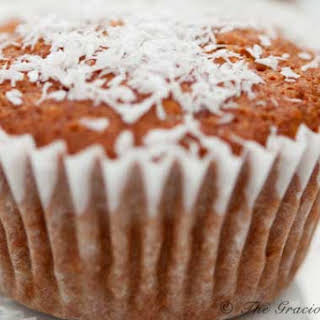 Clean Eating Coconut Pineapple Muffins.