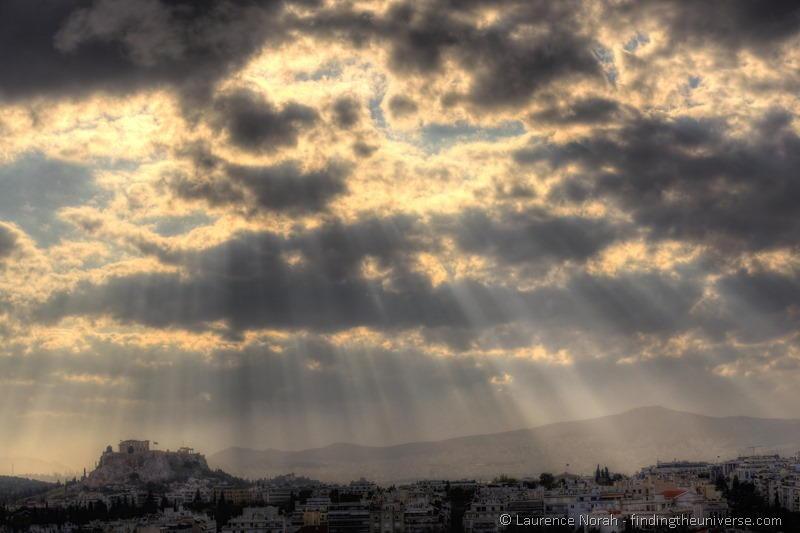Tips for Visiting Athens Acropolis sun beams athens