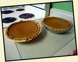 1d - Dec 23 - Getting Ready for Christmas - pumpkin pies