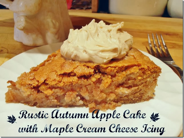 Rustic Apple Cake