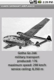 German airplanes in WW2