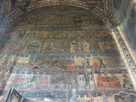 Obiective turistice Romania: picturi manastirea Neamt