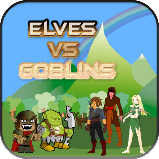 Elves Vs Goblins Game Free LOGO-APP點子