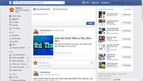 Hướng dẫn chuyển giao diện Facebook mới về giao diện cũ