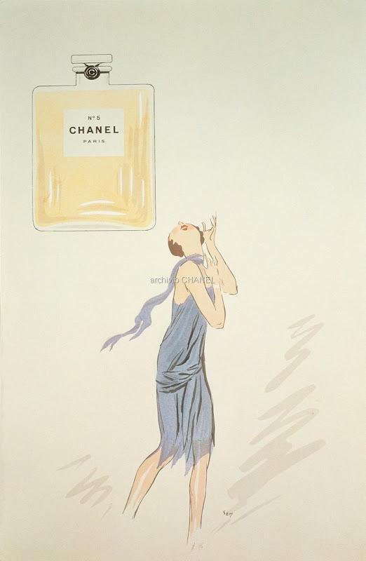 1921 CHANEL N°5 by Sem