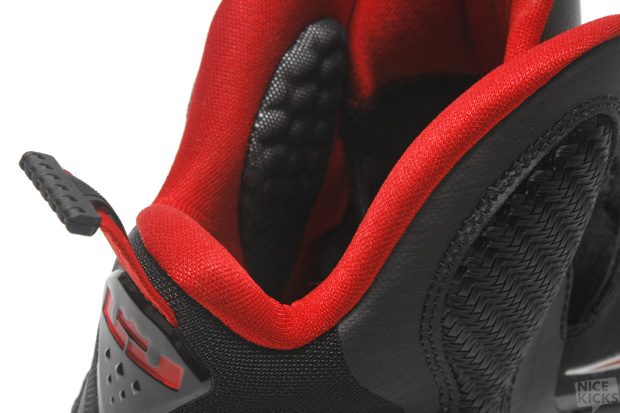 free shipping 55fcb 6658c ... Releasing Now Nike LeBron 9 8220Black 038 Red8221 Miami Heat