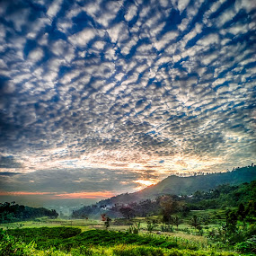 morning rembul by Dugalan Poto - Landscapes Cloud Formations ( clouds, mountain, rembul, indonesia, dugalan, cloud, sunrise, bumijawa, morning, tegal, guci,  )