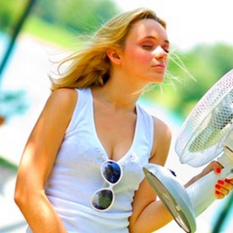 Evite a desidratação em dias de calor