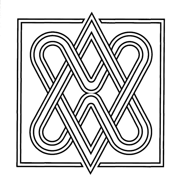 Square Mandala Coloring Pages