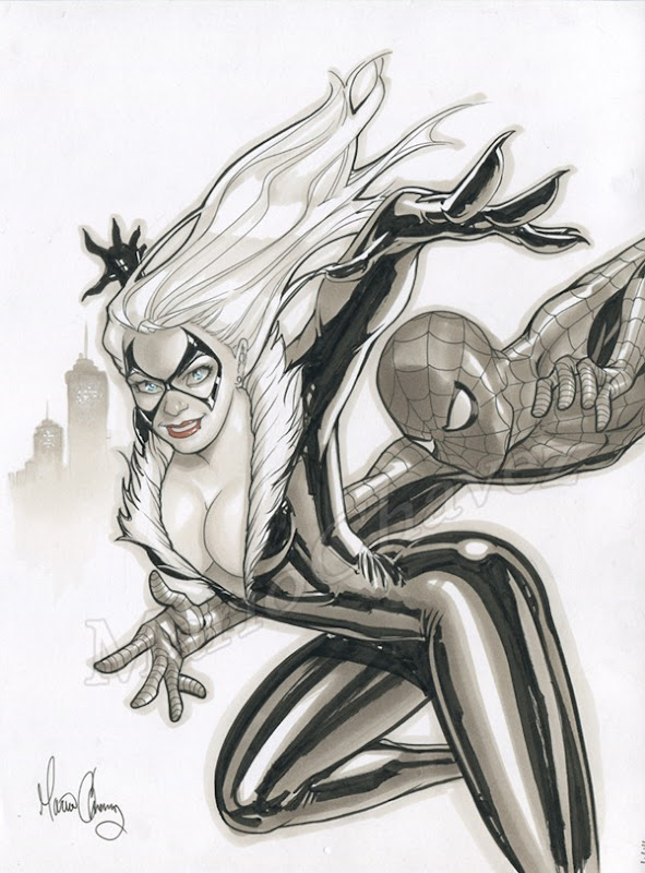 black-cat-spider-man-by-mario-chavez-catch_me_if_ya_can_by_mariochavez-d366z4b