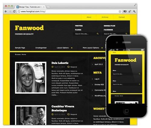 fanwood-wordpress-tema