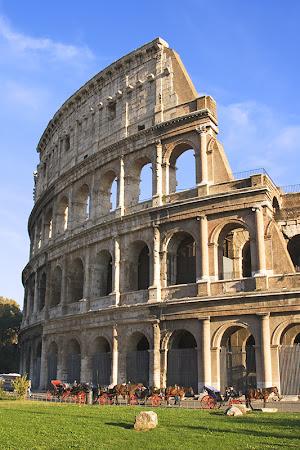 Colliseum - marele amfiteatru din Roma
