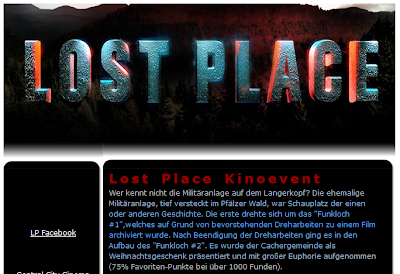 Das Listing vom Lost Place Kinoevent
