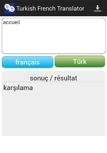 Turkish French Translator
